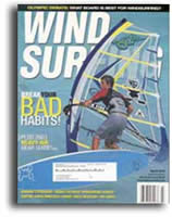 Wind Surf magazine features Inspeed Anemometer